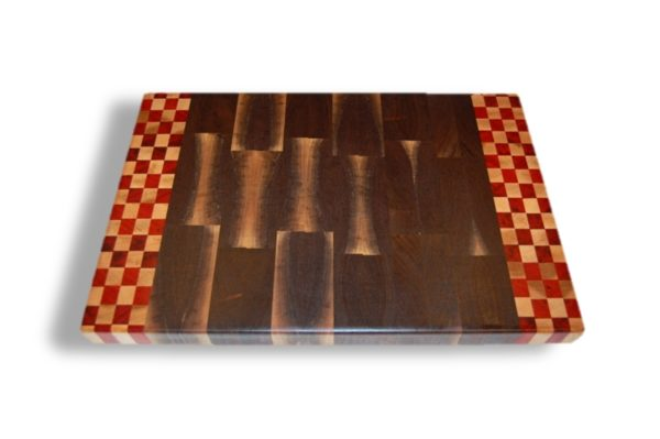 end grain walnut tennessee volunteer cutting board